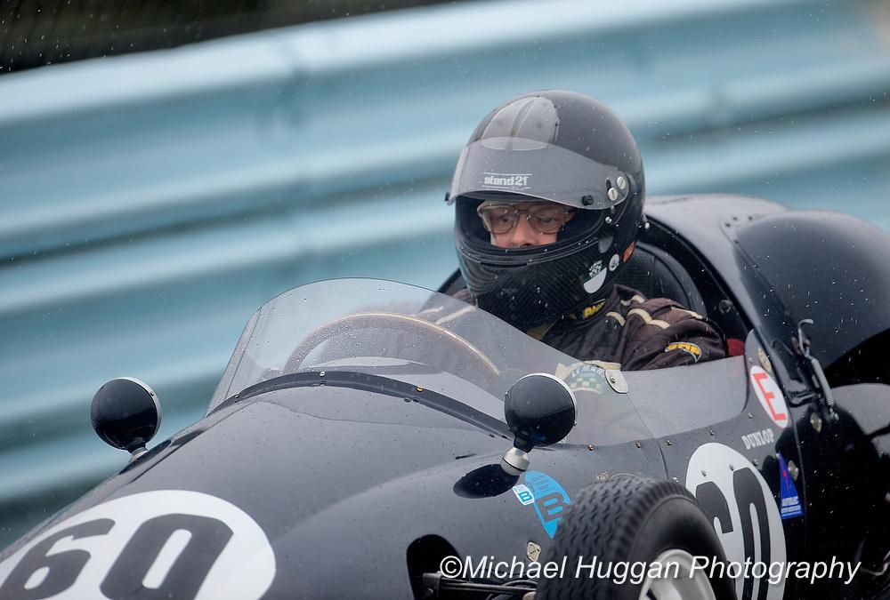 Steve Hart in the Cooper Climax T41 at Circuit de Croix en Terns, France. Photo: Michael Huggan