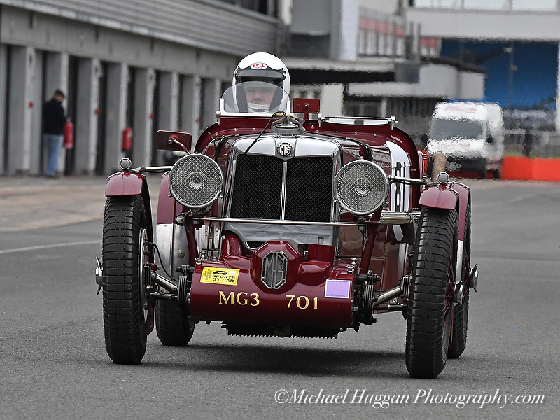 Roger Tushingam in the MG N Type Special