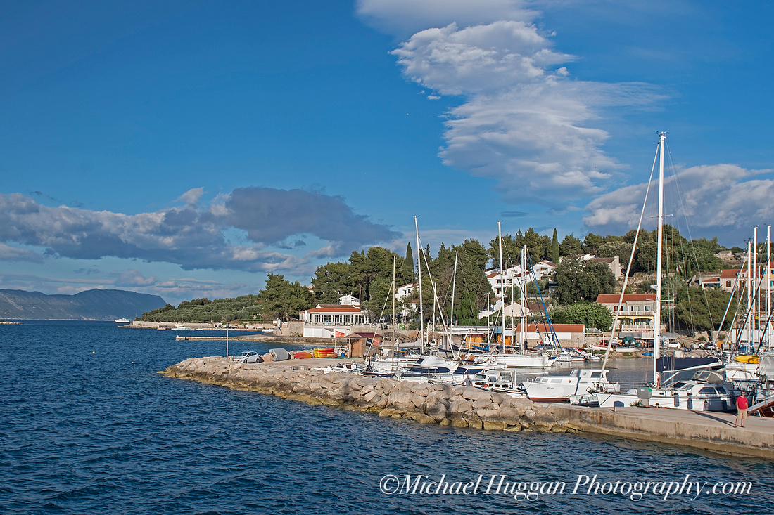 Afternoon and overnight stop in Lumbarda, Korcula
