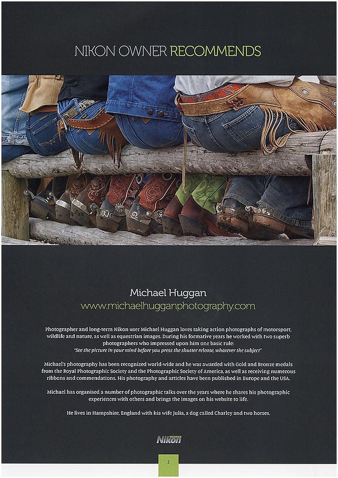 Boots & Butts Nikon magazineA