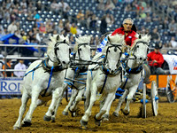Chuck Wagon Race at the Houston Rodeo