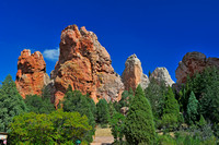 Rock formation in Garden of the Gods