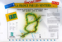 Map of the Garonne Valley