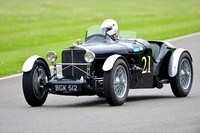 Bill Clyendert drives the 1934 Talbot 75 Special at Benjafield's Sprint
