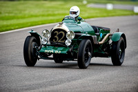 Peter Little drives the 1926 Bentley 3.4 1/2L at Benjafield's Sprint