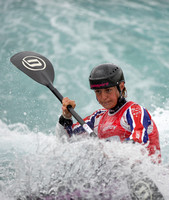 ane Nicholas of Great Britain at the Canoe Slalom