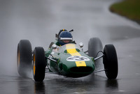 Andy Middlehurst in his Lotus 25-009