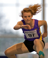 Women's under 20's hurdles at Lee Valley