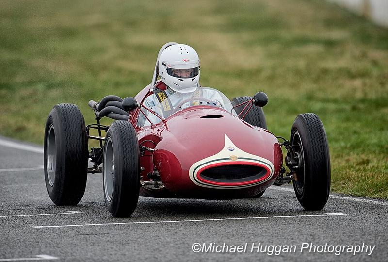 Chris Wilson in the Cooper Maserati T41 at Circuit de Croix en Ternois, France. Photo: Michael Huggan