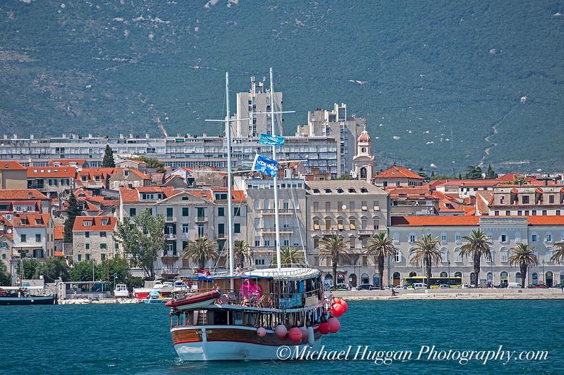 Approaching Split harbour