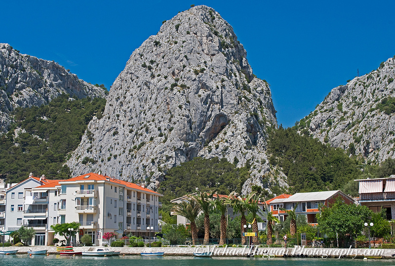 The inner harbour at Omis