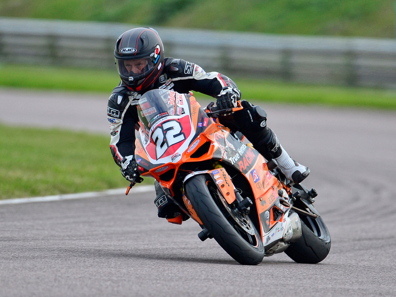 Dave Hampton on his Ducati 899 Panigale