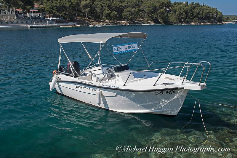 Boat for hire in Milna, Brac,