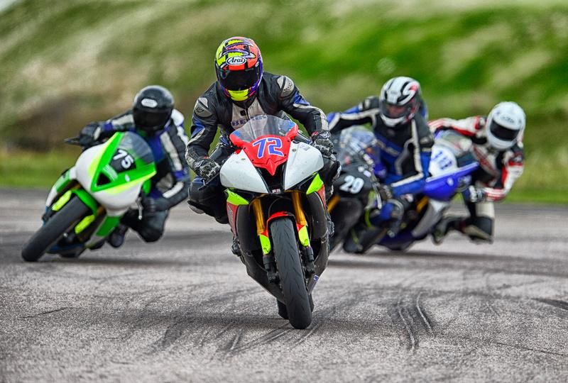 Adam Grosch on his Yamaha R6