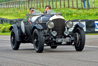 Guy Northam drives the 1928 Bentley 4 1/2L at Benjafield's Sprint