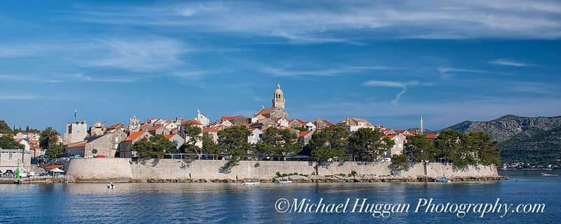 Leaving Korcula from MS medulla
