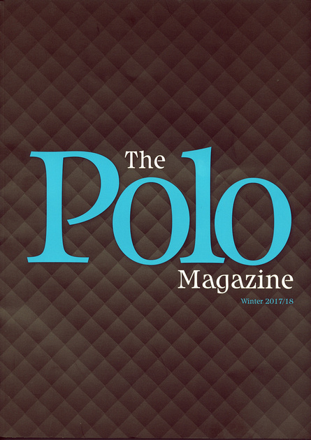 The Polo Magazine front cover Winter 2017/2018 edition