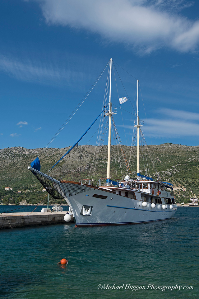 MS Medula at Zaton harbour
