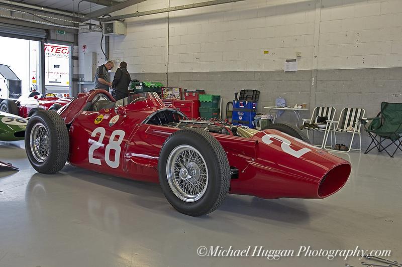 Graham Alderman's Maserati 250F