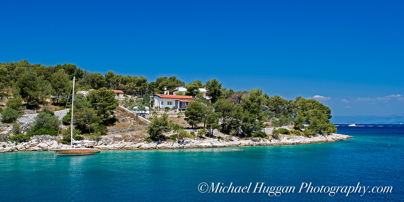 Our swimming area outside Milna, Brac,